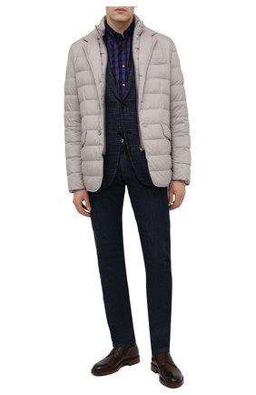 Мужские кожаные дерби ANTONIO MAURIZI коричневого цвета, арт. 7626/LUNA | Фото 2
