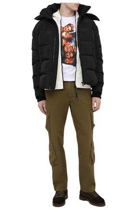 Мужские замшевые ботинки ANTONIO MAURIZI темно-коричневого цвета, арт. 9442/0TTERPR00F | Фото 2