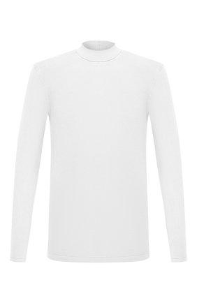 Мужской хлопковая водолазка ZILLI SPORT белого цвета, арт. MFU-13075-447782/0001 | Фото 1