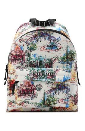 Мужской текстильный рюкзак vltn VALENTINO разноцветного цвета, арт. VY2B0993/ZLJ | Фото 1 (Материал: Текстиль)