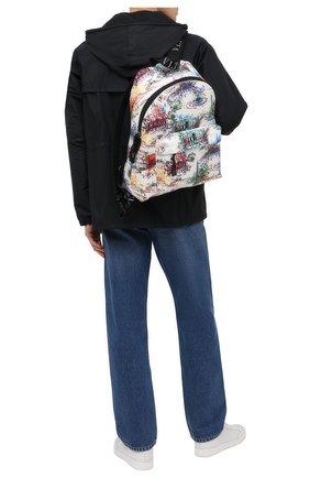Мужской текстильный рюкзак vltn VALENTINO разноцветного цвета, арт. VY2B0993/ZLJ | Фото 2 (Материал: Текстиль)