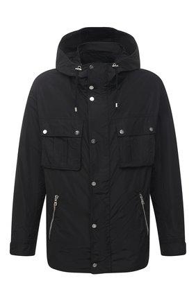 Мужская куртка BALMAIN черного цвета, арт. VH1TG020/X137   Фото 1