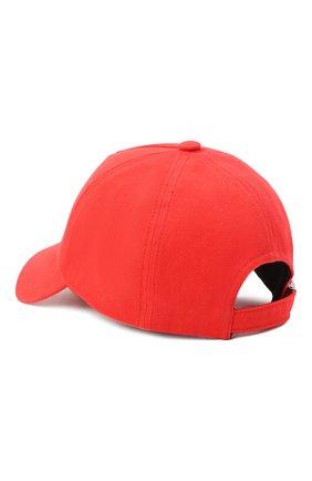 Мужской хлопковая бейсболка BALMAIN красного цвета, арт. VH1XA000/B015 | Фото 2
