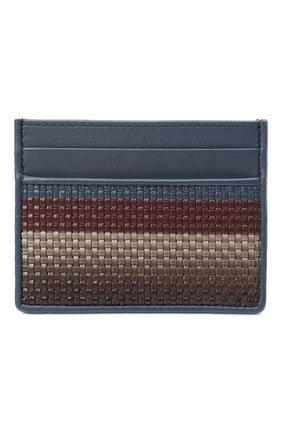 Мужской кожаный футляр для кредитных карт ERMENEGILDO ZEGNA разноцветного цвета, арт. E1139P-LHPTS | Фото 1