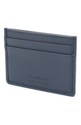 Мужской кожаный футляр для кредитных карт ERMENEGILDO ZEGNA разноцветного цвета, арт. E1139P-LHPTS | Фото 2