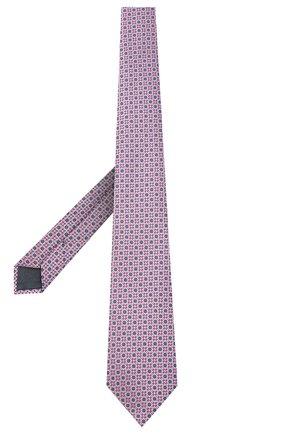 Мужской шелковый галстук ERMENEGILDO ZEGNA розового цвета, арт. Z9W05/1UM | Фото 2