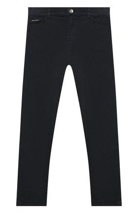 Детские джинсы DOLCE & GABBANA темно-синего цвета, арт. L42F04/LY044/2-6   Фото 1