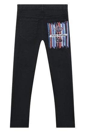 Детские джинсы DOLCE & GABBANA темно-синего цвета, арт. L42F04/LY044/2-6   Фото 2