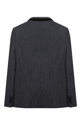 Детский хлопковый пиджак DSQUARED2 синего цвета, арт. DQ0066-D005Q | Фото 2