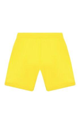 Детские хлопковые шорты DSQUARED2 желтого цвета, арт. DQ0216-D002Y | Фото 2