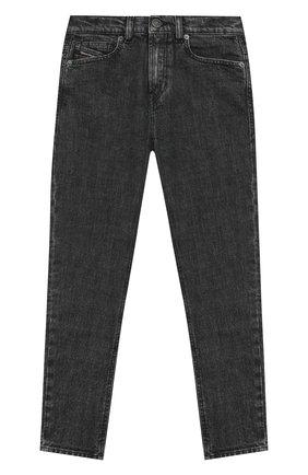 Детские джинсы DIESEL серого цвета, арт. J00156-KXB8R | Фото 1