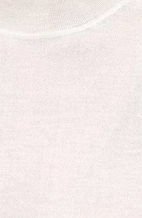 Женский пуловер из кашемира и шелка JIL SANDER белого цвета, арт. JSPS754034-WSY11008 | Фото 5