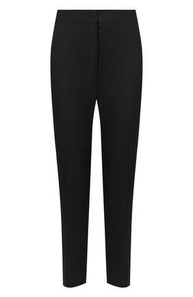 Женские хлопковые брюки JIL SANDER черного цвета, арт. JSPS300800-WS24380L | Фото 1