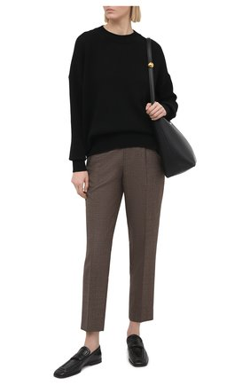Женский кашемировый пуловер JIL SANDER черного цвета, арт. JSPS754020-WSY10008 | Фото 2