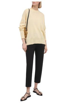 Женский кашемировый пуловер JIL SANDER кремвого цвета, арт. JSPS754020-WSY10008 | Фото 2
