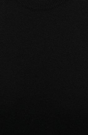 Женский кашемировый топ JIL SANDER черного цвета, арт. JSPS754025-WSY10008   Фото 5