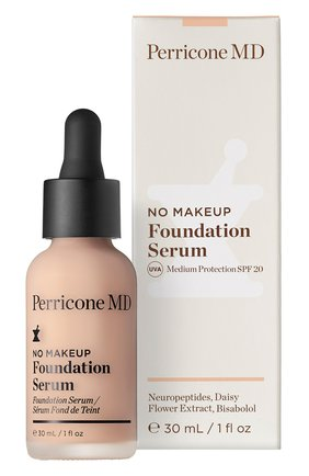 Тональная сыворотка no makeup foundation serum spf20, porcelain PERRICONE MD бесцветного цвета, арт. 651473708681 | Фото 2