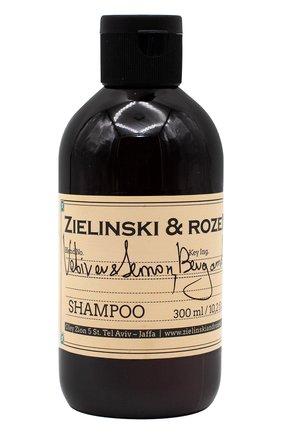 Шампунь для волос vetiver & lemon, bergamot ZIELINSKI&ROZEN бесцветного цвета, арт. 7290018419427 | Фото 1
