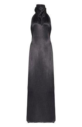 Женское платье BOTTEGA VENETA черного цвета, арт. 648168/V0CS0 | Фото 1