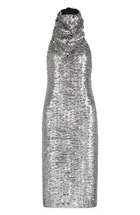 Женское платье с пайетками BOTTEGA VENETA черного цвета, арт. 648692/V0GT0 | Фото 1