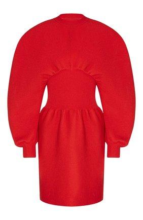 Женское платье BOTTEGA VENETA красного цвета, арт. 650768/V0CX0 | Фото 1