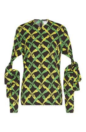Женская блузка BOTTEGA VENETA разноцветного цвета, арт. 651003/V0G60 | Фото 1