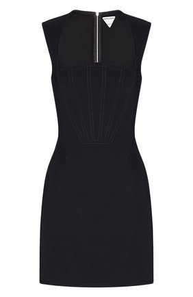Женское платье BOTTEGA VENETA черного цвета, арт. 651230/VKE10 | Фото 1