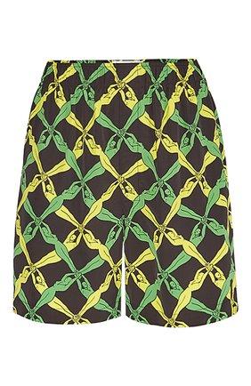 Женские шорты BOTTEGA VENETA разноцветного цвета, арт. 652513/V0G60 | Фото 1