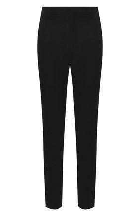 Мужские брюки BALMAIN черного цвета, арт. VH1P0000/C193   Фото 1
