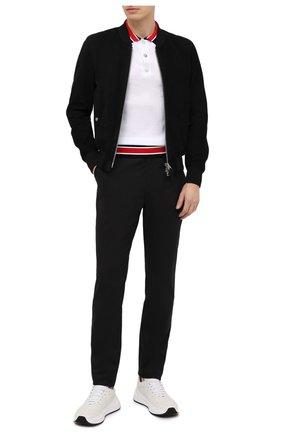 Мужские брюки BALMAIN черного цвета, арт. VH1P0000/C193   Фото 2