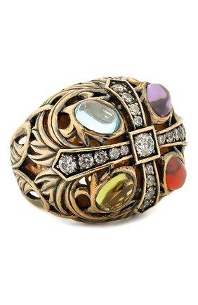 Женское кольцо four moon QUEENSBEE разноцветного цвета, арт. 102109/15,93 | Фото 1