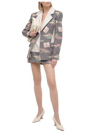 Женский жакет ULYANA SERGEENKO серого цвета, арт. GCC002FW20P(0228р20) | Фото 2