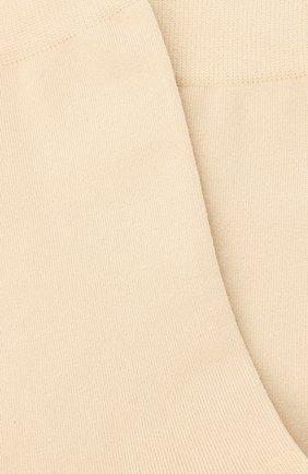 Женские носки FALKE кремвого цвета, арт. 47673 | Фото 2
