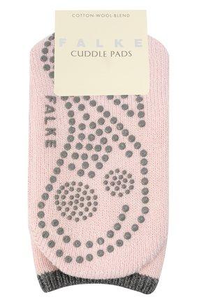 Женские носки FALKE розового цвета, арт. 47540   Фото 1 (Материал внешний: Хлопок)