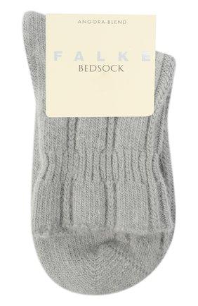 Женские носки bedsock FALKE серебряного цвета, арт. 47470 | Фото 1