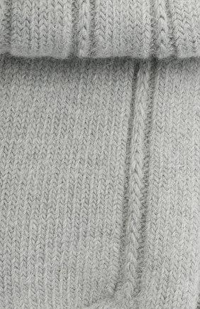 Женские носки bedsock FALKE серебряного цвета, арт. 47470 | Фото 2