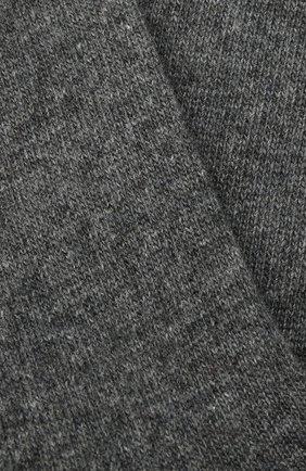 Женские носки FALKE серого цвета, арт. 47548   Фото 2 (Материал внешний: Шерсть)