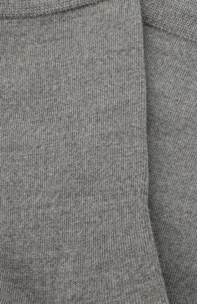 Женские носки softmerino FALKE светло-серого цвета, арт. 47488   Фото 2 (Материал внешний: Шерсть)