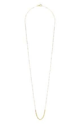 Женское колье BOTTEGA VENETA золотого цвета, арт. 622027/VAHU0   Фото 1