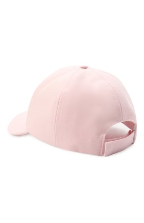 Женская хлопковая бейсболка OFF-WHITE розового цвета, арт. 0WLB014R21FAB001 | Фото 2