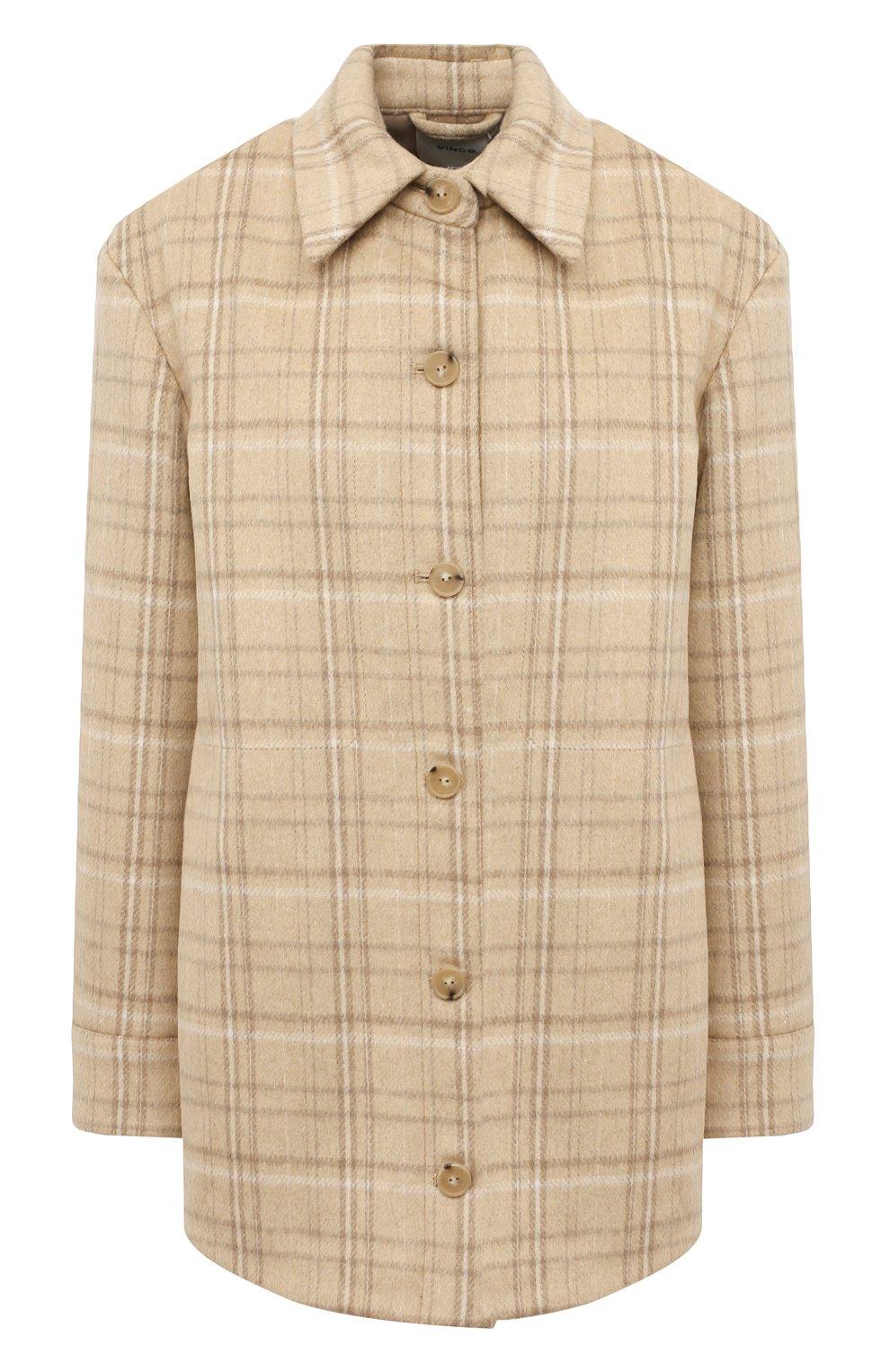 Женская куртка VINCE бежевого цвета, арт. V710691325   Фото 1