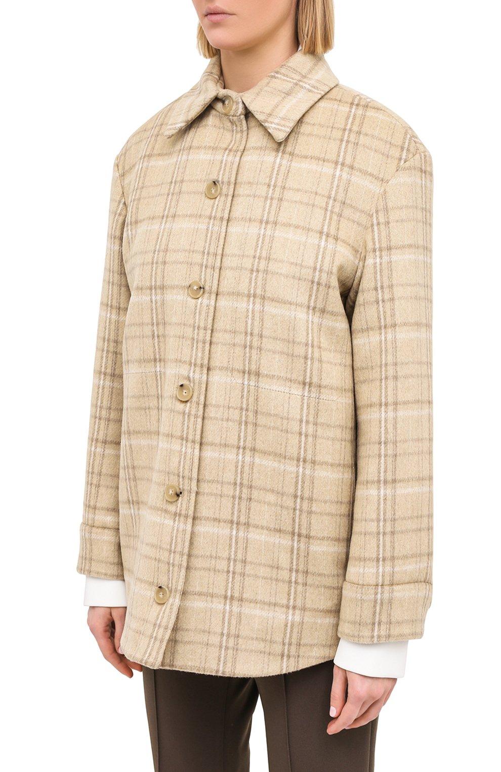 Женская куртка VINCE бежевого цвета, арт. V710691325   Фото 3