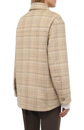 Женская куртка VINCE бежевого цвета, арт. V710691325   Фото 4