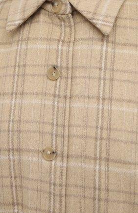 Женская куртка VINCE бежевого цвета, арт. V710691325   Фото 5