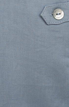 Детский льняной комбинезон TARTINE ET CHOCOLAT голубого цвета, арт. TS21051/1M-1A   Фото 3
