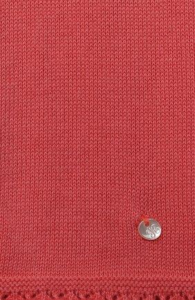 Детские хлопковые брюки TARTINE ET CHOCOLAT кораллового цвета, арт. TS24001/1M-1A | Фото 3