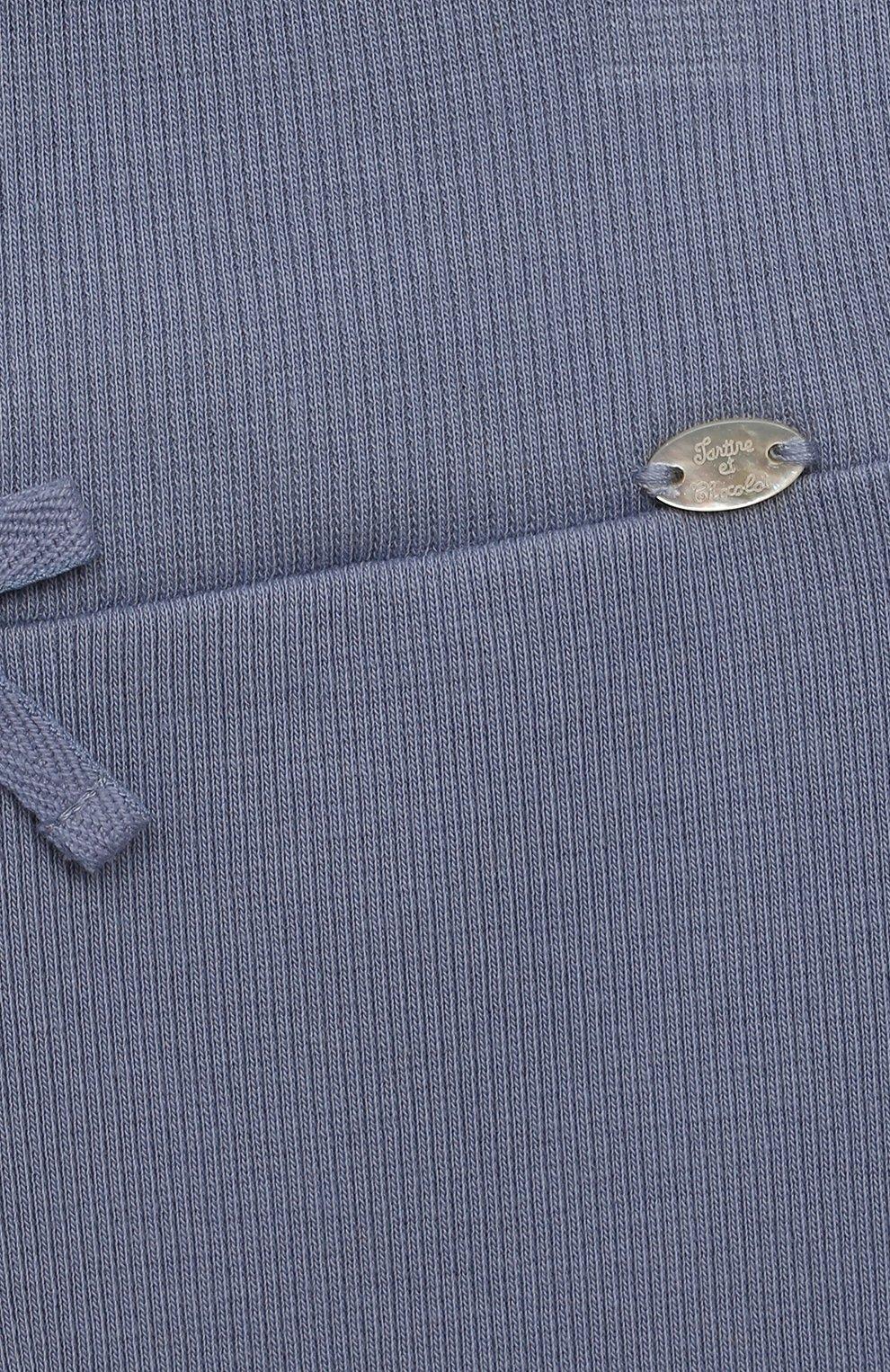 Детские хлопковые брюки TARTINE ET CHOCOLAT синего цвета, арт. TS24021/1M-1A | Фото 3