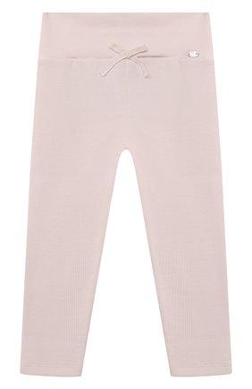 Детские хлопковые брюки TARTINE ET CHOCOLAT светло-розового цвета, арт. TS24021/18M-3A | Фото 1