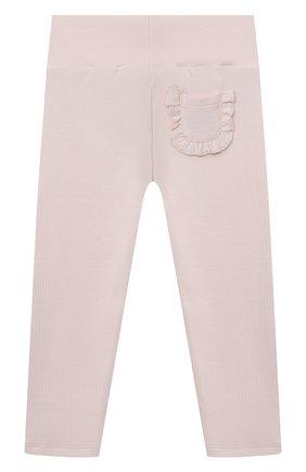 Детские хлопковые брюки TARTINE ET CHOCOLAT светло-розового цвета, арт. TS24021/18M-3A | Фото 2