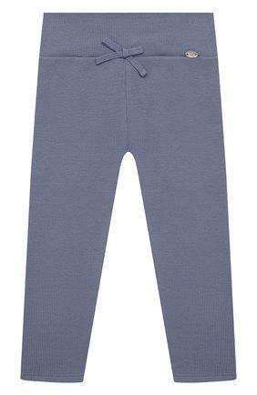 Детские хлопковые брюки TARTINE ET CHOCOLAT синего цвета, арт. TS24021/18M-3A | Фото 1